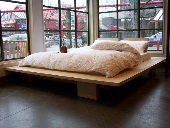 Platform Bed by vurvdesign on Etsy