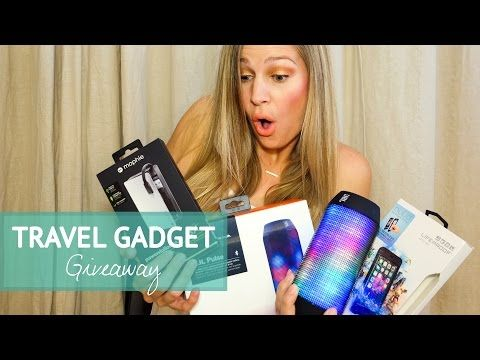 The Ultimate Travel Gadget Giveaway ($400 VALUE) • The Blonde Abroad