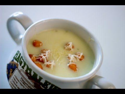 Fokhagymakrémleves videó recept (Garlic Soup) - YouTube