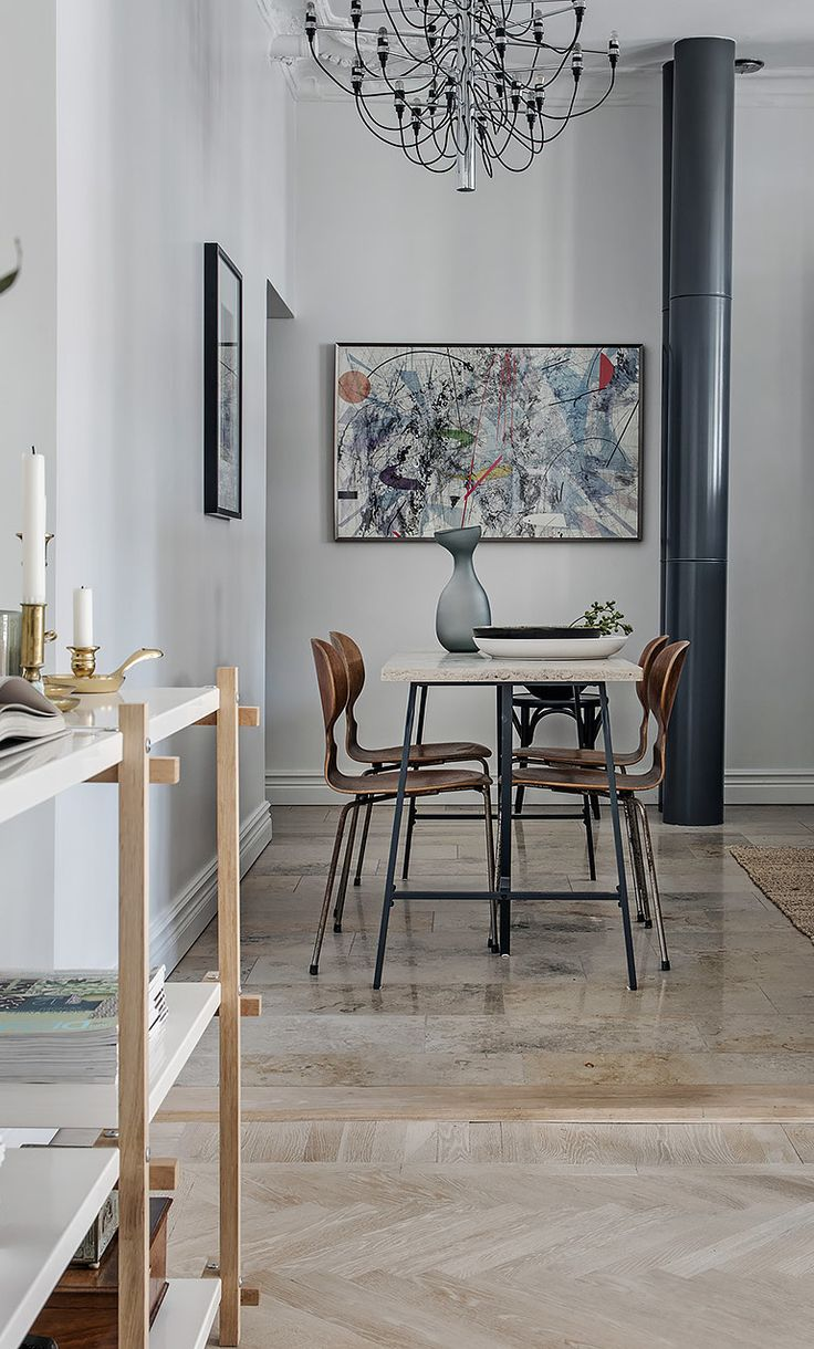 158 best dining room i republic of fritz hansen images on stylish turn of the century home in beige and grey via coco lapine design
