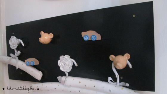 Tutumutti - Gyerekkel kreatívan blog / www.tutumutti.blog.hu / Egyedi gyerekfogas házilag / Coat hooks for kids / DIY and Crafts