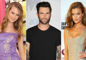 Another day, another model for Adam Levine. The Maroon 5 singer has allegedly split with Victoria's Secret beauty Behati Prinsloo and has moved on to Sports Illustrated model Nina Agdal, according to an Us Weekly report.