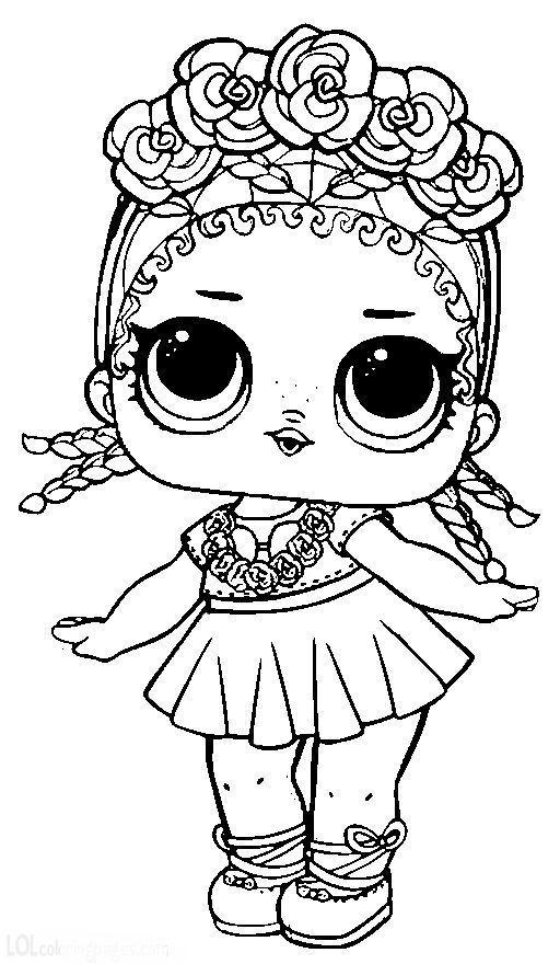 Dibujos para Colorear: Muñecas LOL | Muñecas Lol | Lol dolls