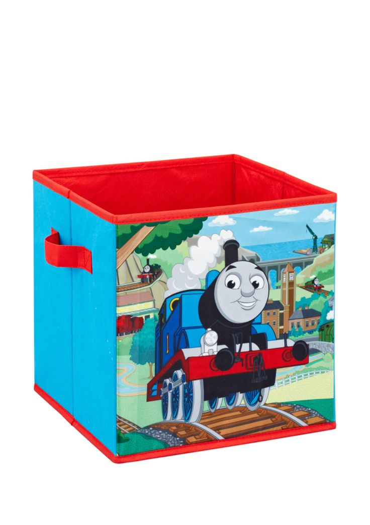 ideeli   THOMAS THE TRAIN Storage Cube. 17 Best images about Thomas the Train room on Pinterest   Toddler