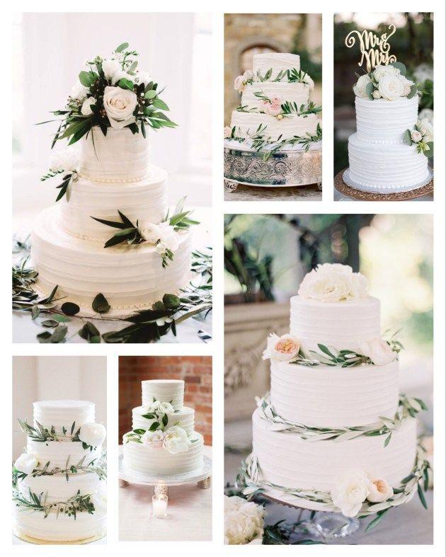 Hochzeitstorte, Wedding Cake, Eucalyptus, Grüne H…