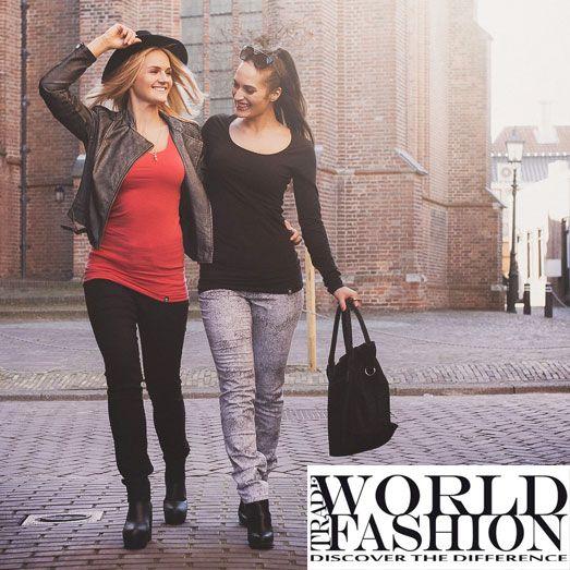 World Trade Fashion Basics voor dames bij United Fashion Outlet