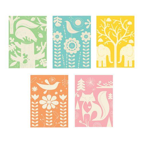 IKEA - KORT, Cartolina, Soggetto di Tracy Walker.Personalizza la tua casa con oggetti d'arte che rispecchiano il tuo stile.