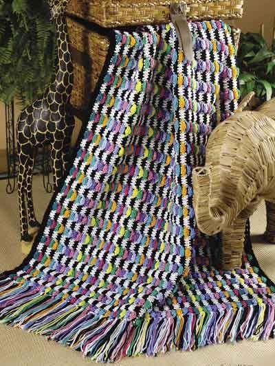 Crochet - Assorted - Zebra Flair