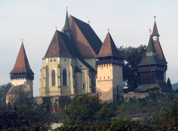 The most beautiful pictures of Romania: Fortress Church Biertan