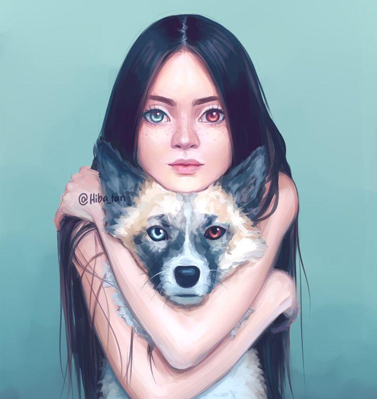 Heterochromia by Hiba-tan.deviantart.com on @DeviantArt