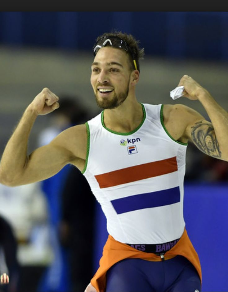 Dutch speed skater, Kjeld Nuis ~ Gold medal at 2018 Pyeongchang Olympics (1,500m)