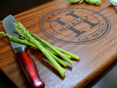 Personalized Cutting Board - 10 Must-Have Wedding Presents from Etsy (even if you have to buy them yourself) - AngelSpringsEvents.com