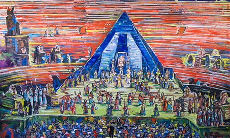 04_L'Aida all'arena di Verona con la Callas