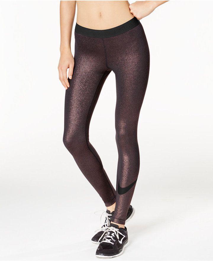 c7f2510163e66 Cool Sparkle Dri-fit Leggings to workout in! #legging #Nike #workoutclothes