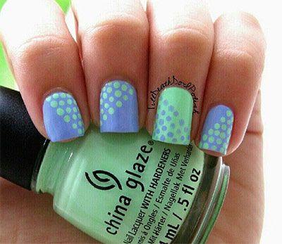 15 Stunning Blue Summer Nail Art Designs, Ideas, Trends & Stickers 2014