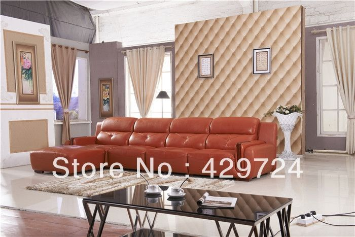 1999.00$  Buy now - http://alitfu.worldwells.pw/go.php?t=1218589343 - Free Shipping  2015 latest home designs Moden Top Grain leather Corner Sofa Set with Chaise Longue Best Leather Sofa Bed  AA011 1999.00$