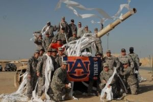 Soldiers roll tank in honor of Toomer's trees