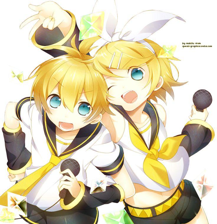 Nada mas, ni nada menos que un sección donde habrán imágenes de nuestros hermosos y adorados Kagamine... Rin y Len Kaga...