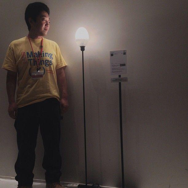 #3DPrinting light .@TOKYO Maker (TOKYO Maker) 's Instagram photos   Webstagram - the best Instagram viewer