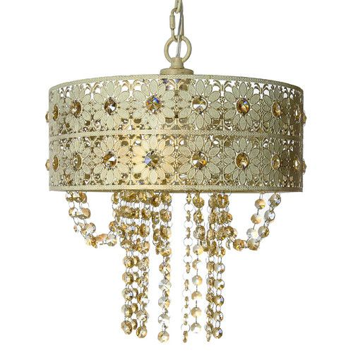 Found it at Wayfair - Jeweled Blossoms Chadelier