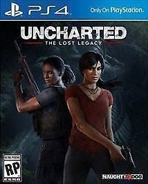 Uncharted: The Lost Legacy New (Sony PlayStation 4) w/ Jak and Daxter code