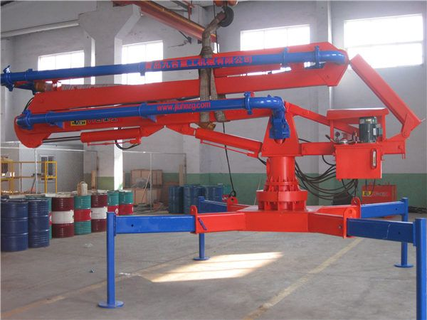 HGY13 Mobile Concrete Placing Boom