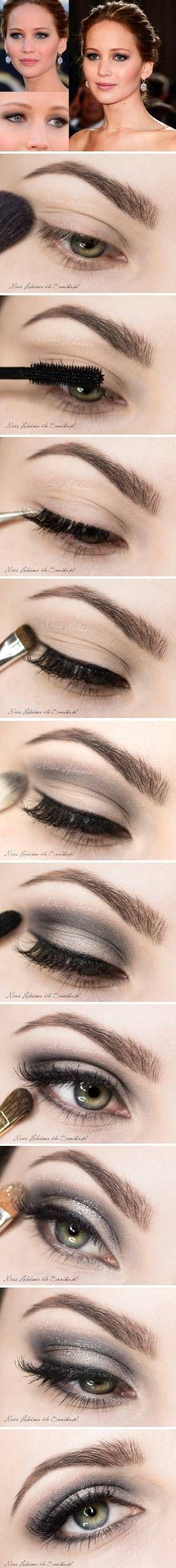 Jennifer Lawrence makeup style