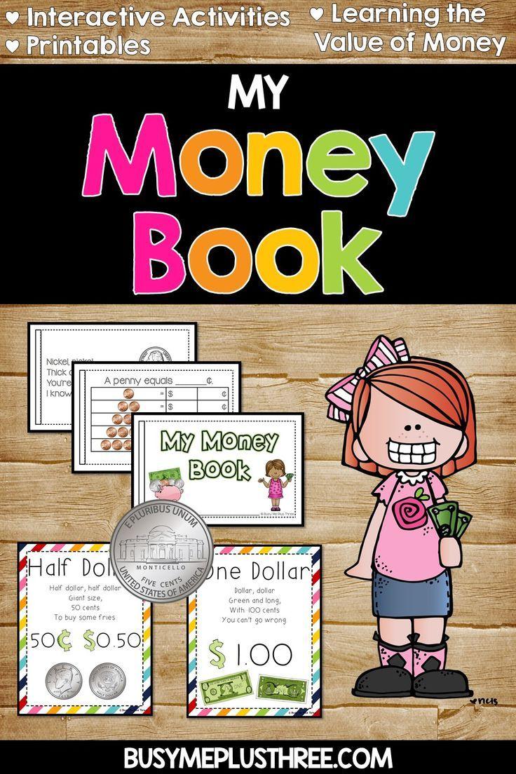 Money Book Activity Money Worksheet Money Posters Money Book Money Poster Money Worksheets