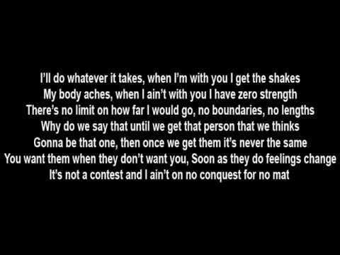 When I'm with you I get the shakes. #eminem #lyrics