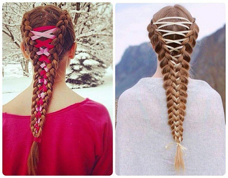 Depois da onda da Boxer Braids, a novidade agora é praticamente um penteado de princesa, lindo, delicado e romântico...👸😍 Vem saber tudo sobre as Corset Braids 😉 #CorsetBraids #Trança #Hair #BoxerBraid #Braid #Madeixas #Trend #Novidades #Penteado #DicaDePenteado #Tendência #DicasDaRe #SegredosDaRe
