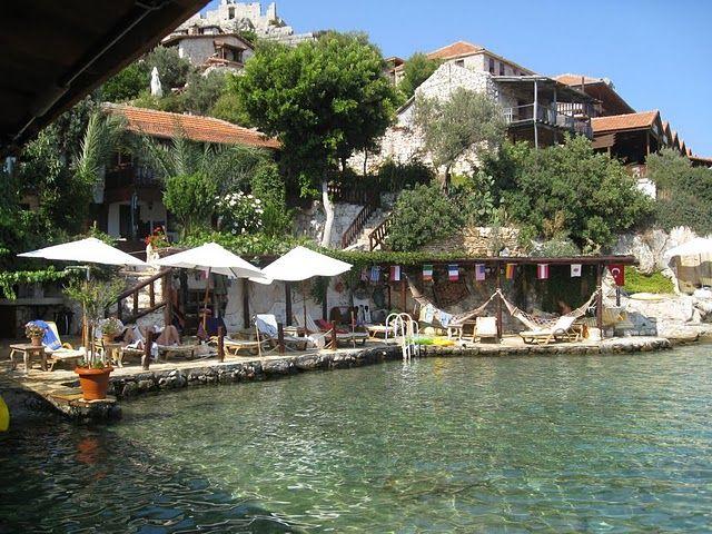 Simena Kale koy Village Antalya Demre