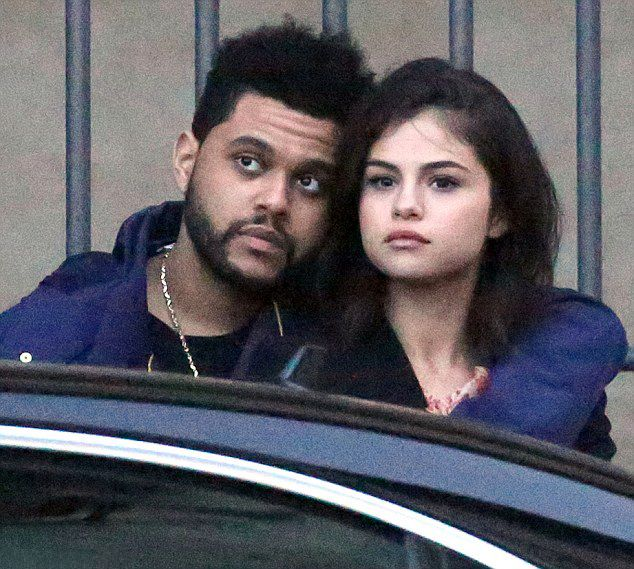 January 27: Selena seen out and about with The Weeknd in Florence, Italy