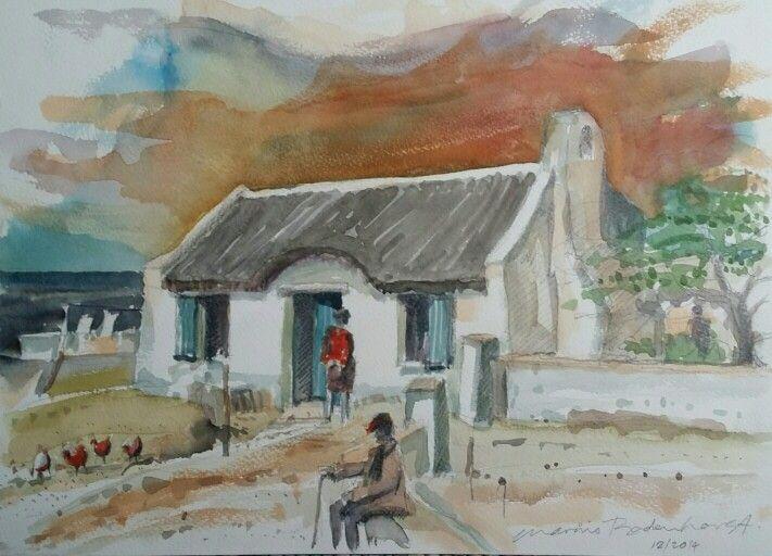 Cape fisherman's cottage