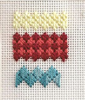 Rittenhouse Needlepoint: Stitch of the Week: Hungarian