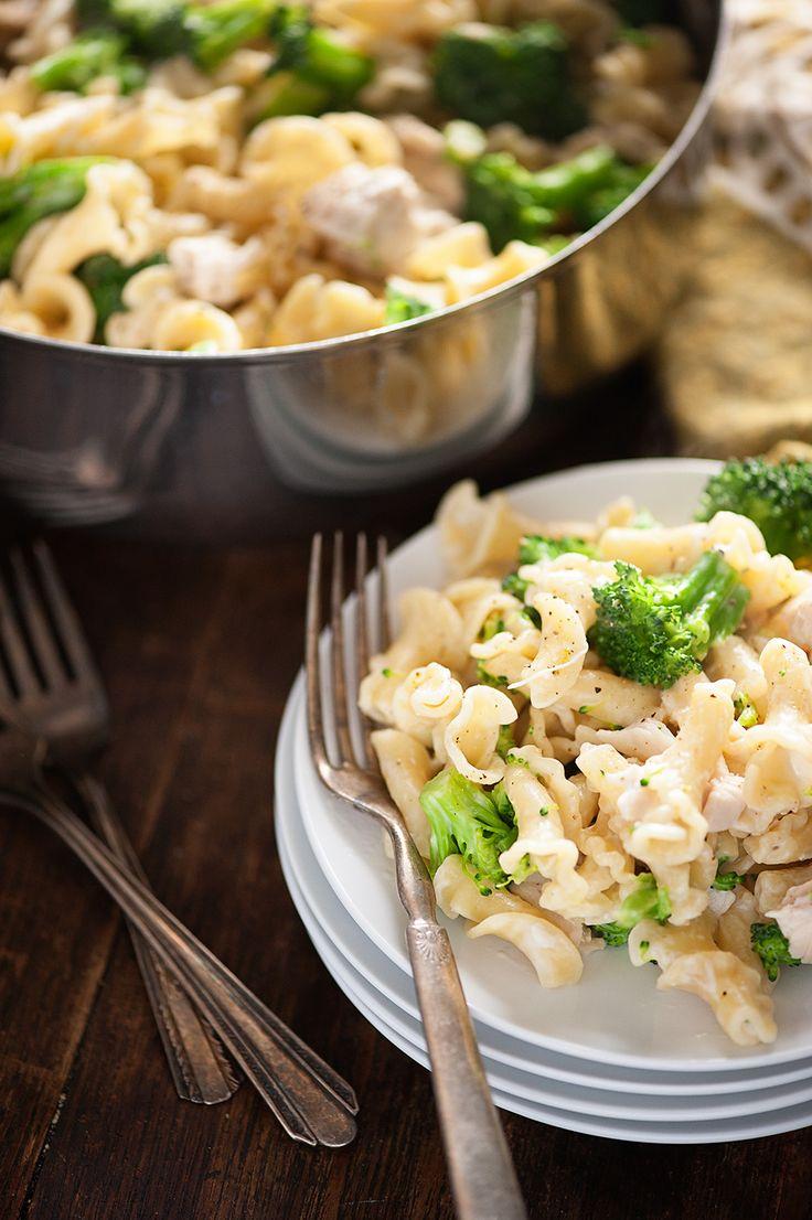 Chicken broth broccoli pasta recipes