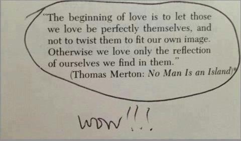 "thomas merton tumblr | Studies prove ""opposites attract""……. #NOT!!!"