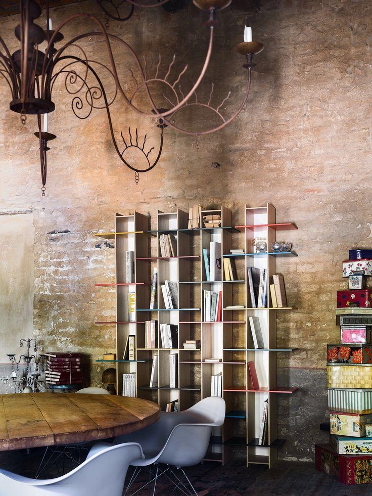 Joint bookshelves by Sculptures Jeux