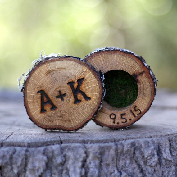 Mini Log Ring Boxes Wedding Ring Box Wood Ring Box Proposal Ring Box Engagement  Ring Box Wedding Ring Holder Custom Ring Box Rustic WoodenBest 25  Hippie wedding ring ideas only on Pinterest   Beautiful  . Hippie Wedding Rings. Home Design Ideas