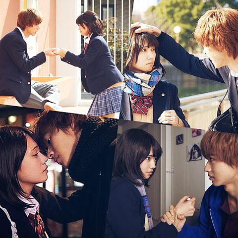 "[16 min SP making, BTS, unreleased scenes] https://www.youtube.com/watch?v=lRi2MPMC4d0     Fumi Nikaido x Kento Yamazaki, J LA movie ""Ookami shoujo to kuro ouji (Wolf girl n black prince)"". Release: May/28/16"