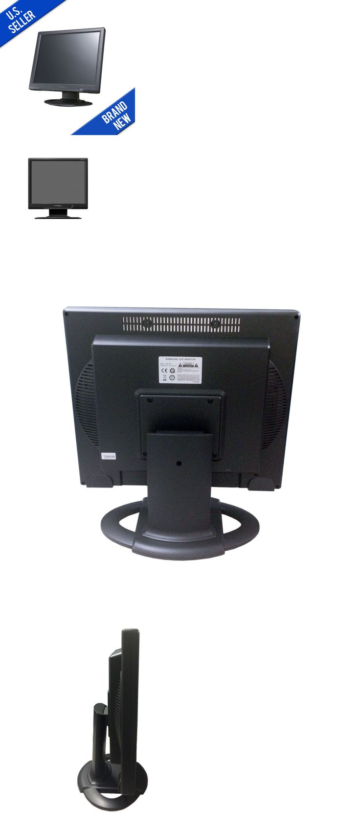 Surveillance Monitors Displays: Samsung Professional Security Lcd 17 Inch Cctv Monitor Glass Front -> BUY IT NOW ONLY: $99.99 on eBay!