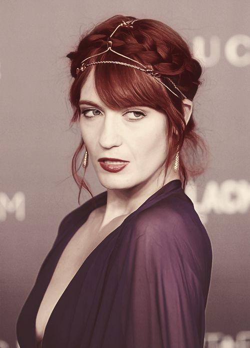 Florence Welch of Florence + The Machine:  Farb- und Stilberatung mit http://www.farben-reich.com/