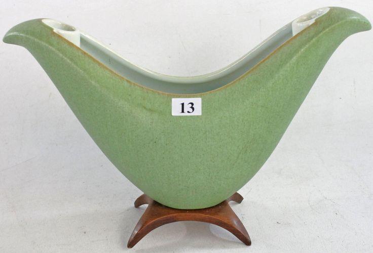 Henning Rathjen Vase with wooden base