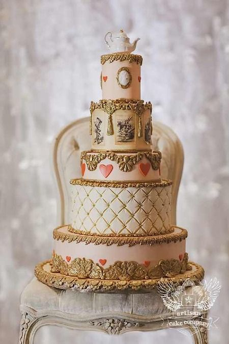 Looking to add some Wonderland whimsy to your big day? Then here are 10 oh-so-elegant cakes to mak...