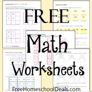 math worksheet : 1000 ideas about math worksheets on pinterest  worksheets math  : Free Math Worksheets Printable