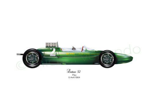 lotus 32 - Pau - 1964