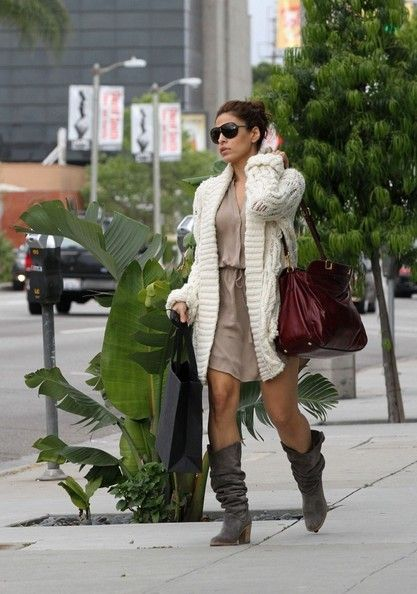 Eva Mendes Fashion and Style - Eva Mendes Dress, Clothes, Hairstyle - Page 20