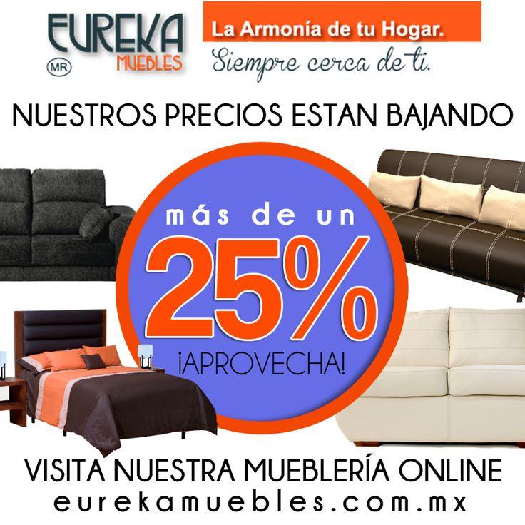 Promociones de Verano http://www.eurekamuebles.com.mx