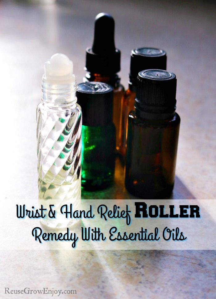 Wrist & Hand Relief Roller Remedy With Essential Oils