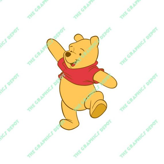 Winnie The Pooh SVG File EPS PNG By TheGraphicsDepot
