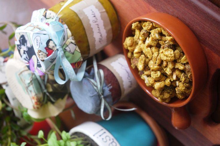 spiced nuts- Julie Goodwin